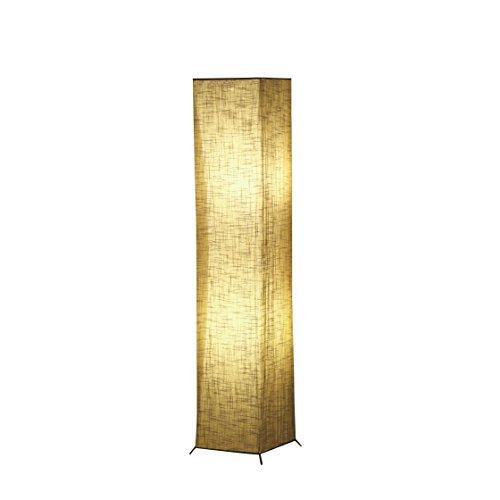 Soft Light Floor Lamp, IDELIFE Modern Design Linen Fabric LED Floor Lamp 52