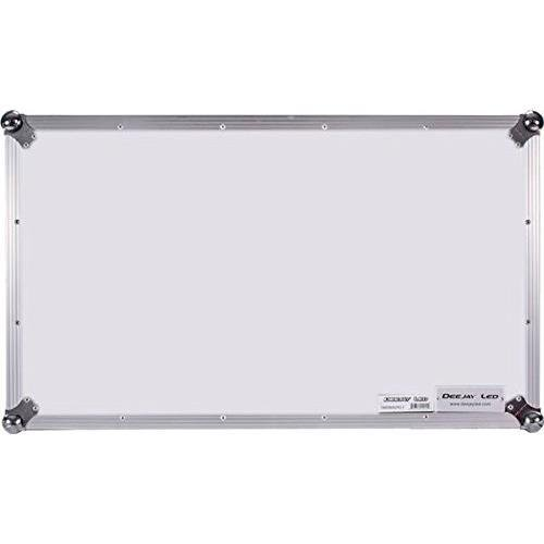 DEEJAYLED TBH FLIGHT CASE FOR PIONEER DDJSZ CONTROLLER WITH LAPTOP SHELF & LOW PROFILE WHEELS IN WHITE (TBHDDJSZWLTWHITE)