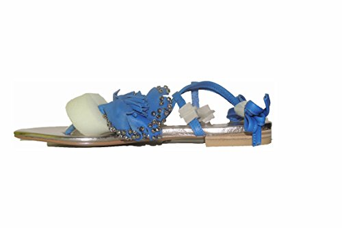 Lacets Plates de Chaussures Iris Plates Tongs Sandales 37 Chaussures Plage Lollipops Cuir Fptq8w