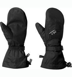 Outdoor Research Fleece Mittens - Outdoor Research Adrenaline Waterproof Mitts - Men's