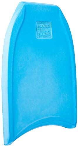 Adult Kickboard - Power Systems Kickboard Plus for Swim Fitness Training, 27 x 19 x 2 Inches, Blue (86692)
