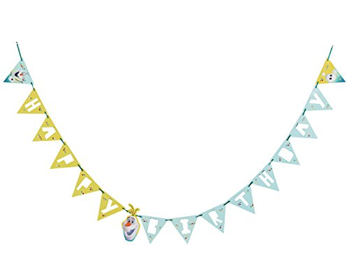 American Greetings Olaf Birthday Party Banner Party Supplies