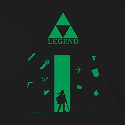 Legend - Damen T-Shirt, Größe: M, Farbe: blau