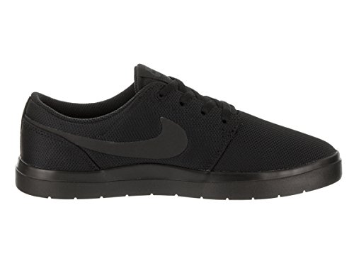 Nike Kids Portmore II Ultralight (GS) Skate Shoe Black/Black/Anthracite ZNz1Sqq0LP