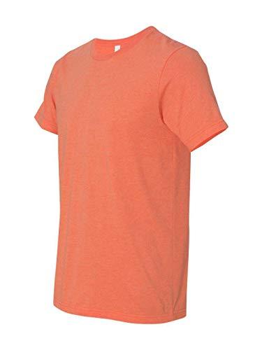 Bella + Canvas Unisex Jersey Short Sleeve Tee (Heather Orange) (L) (Ladies Bella Cotton Crewneck T-shirts)