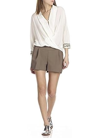prix de liquidation ramasser la qualité d'abord IKKS Short Femme: Amazon.fr: Vêtements et accessoires