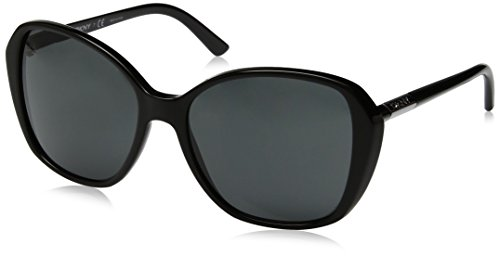 DKNY Women's Plastic Woman Square Sunglasses, Black, 57 - Dkny Sunglasses