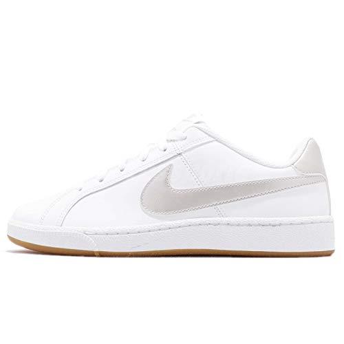 NIKE Women's WMNS Court Royale Gymnastics Shoes, White (White/Lt Bone/Gum Lt Brown 115), 3.5 UK