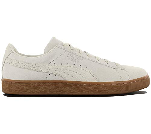 Puma Unisex-Erwachsene Suede Classic Natural Warmth Sneaker weiß