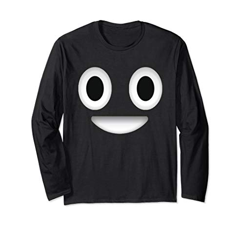 Poop Costume Emoticon Shirt Halloween Gift for Boys Girls Long Sleeve T-Shirt]()