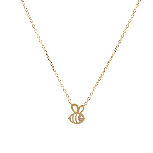Gold Bumble Bee Charm - 4
