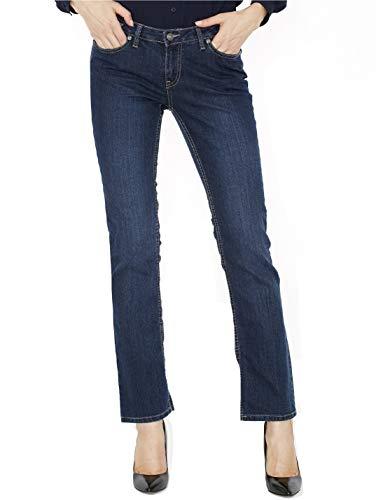 Canyon River Blues Stretch Jeans for Women - Slim Fit, Straight Leg Cut, Midrise - 4 -Denim