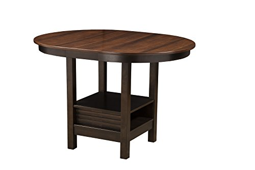Alpine Furniture 5442-01 Davenport Pub Table