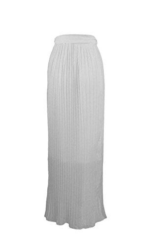 Alta hendidura Irregular Maxi faldas playa de la mujer faldas faldas de Bohemia