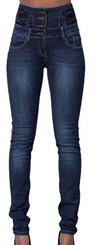 Zalock Jeans Fonc Zalock Bleu Femme Jeans d88x0H