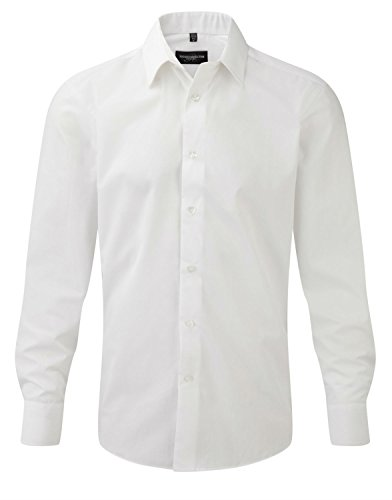 Russell Athletic - Chemise business - Homme -  Blanc - X-Large