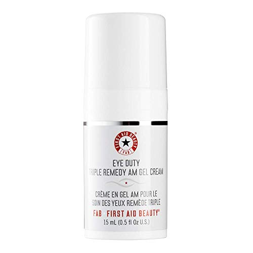 First Aid Beauty Eye Duty Triple Remedy AM Gel Cream, 0.5 oz from First Aid Beauty