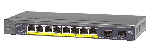 Prosafe 8port Gig Poe Smart Switch With 2 Gigabit Fiber Sfp