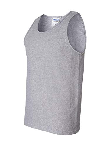 (Gildan Ultra CottonTM 90/10 Cotton/Poly Sleeveless T-Shirt S Sport Grey 2700)