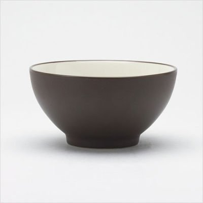 Noritake 6-Inch Colorwave Rice Bowl, Chocolate ()