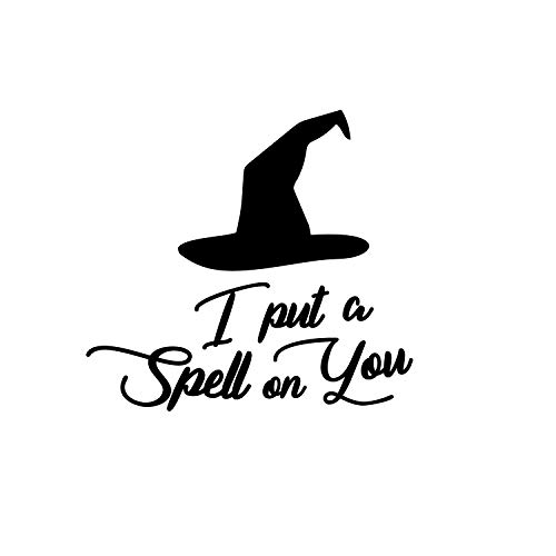 Vinyl Wall Art Decal - I Put A Spell On You - 20