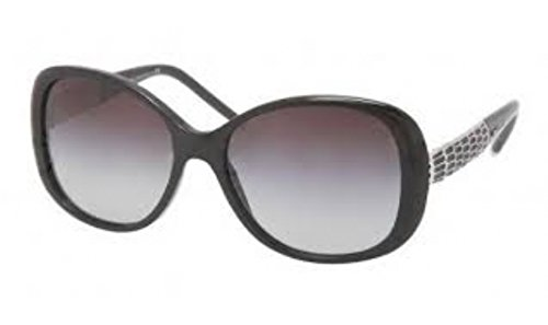 Bvlgari BV8114 501/8G Black BV8114 Butterfly Sunglasses Lens Category 3 Size - Case Bvlgari Sunglasses