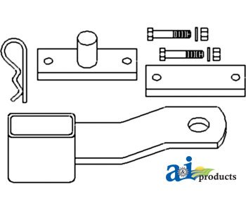Lock; Drawbar (Cat I) - 49A29 (Drawbar Lock)