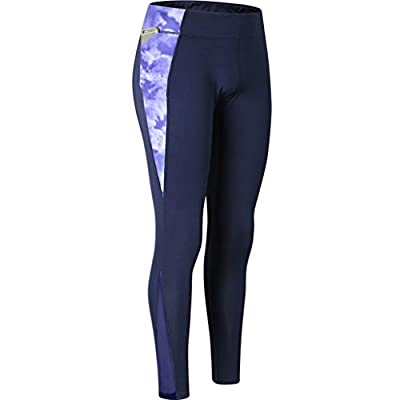 RAINED-High Waist Out Pocket Yoga Pants Tummy Control Workout Running 4 Way Stretch Yoga Leggings Body Shaper