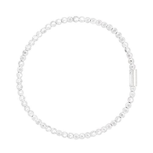 Silpada 'Charlotte' Sterling Silver Stretch Bracelet, -