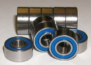 2 Miniature Bearing 4mm x 8mm x 3 Ceramic Stainless VXB