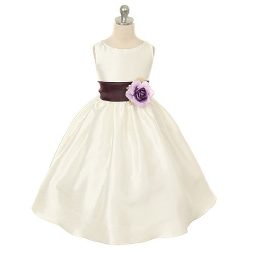 Kids Dream Girls 2 Ivory Flower Easter Special Occasion D...