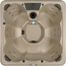 spa plug n play 67 person hot tub leds in shell underwater
