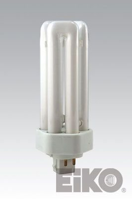 Eiko TT26/50 26W Triple-Tube 5000K GX24q-3 Base Fluorescent Halogen Bulbs