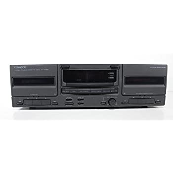 Kenwood KX-W896 Double Cassette Deck Stereo Tape Player