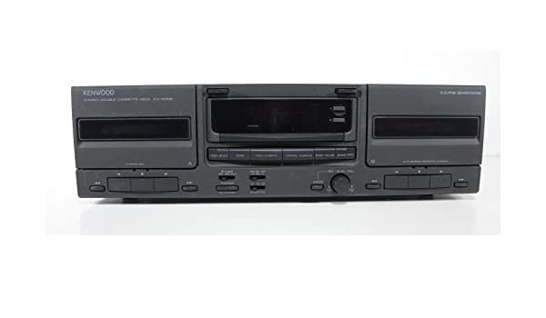 Amazon.com: Kenwood KX-W896 Double Cassette Deck Stereo Tape Player: Home Audio & Theater
