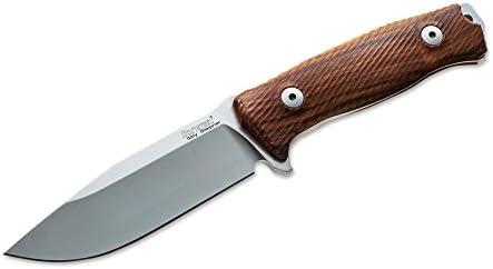 Lion Steel Cuchillo Hunting M5 Santos Wood, 02ls017