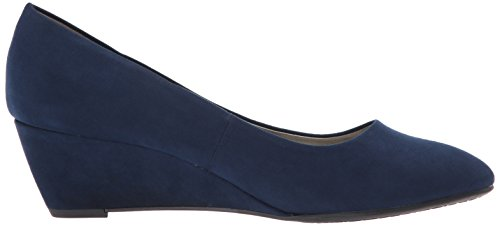 Bandolino Womens Franci Wedge Pump Navy