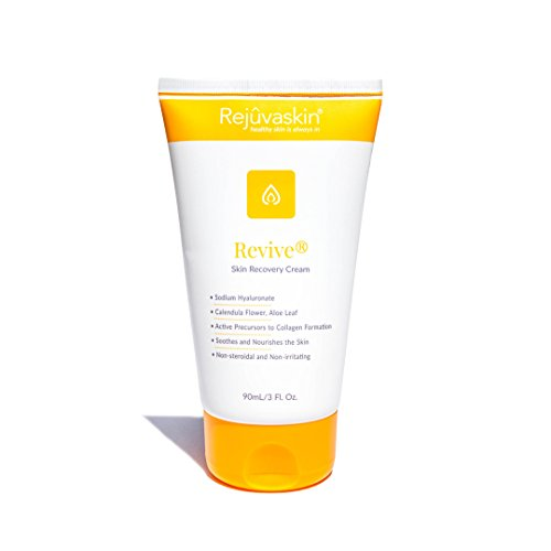 (Rejuvaskin Skin Recovery Cream - Radiation Relief - Soothes and Nourishes Skin - 90mL/3 Fl Oz)