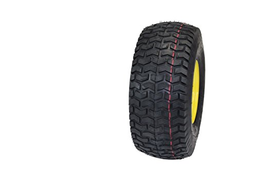 """(Set of 2) 15×6.00-6 Tires & Wheels 4 Ply for Lawn & Garden Mower Turf Tires .75"""" Bearing"""
