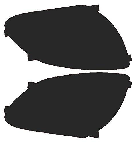 Precut Vinyl Tint Cover for 2003-2006 G35 Sedan Headlights (20% Dark Smoke)