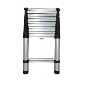 Telesteps 1600 250-Pound Duty Rating Aluminum Telescoping Extension Ladder, 12-1/2-Foot