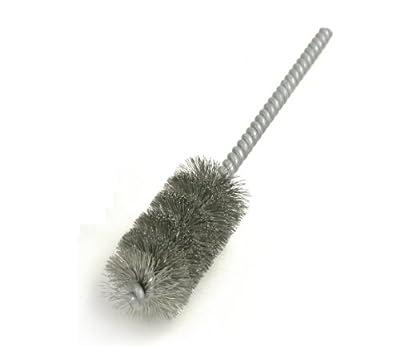 Brush Research 83 Spiral Twist Brush, Stainless Steel, Single Stem