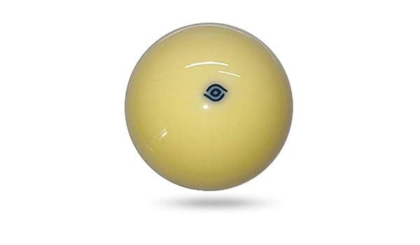 YWEHAPPY 1 Unids White Cue Ball 57.2 Mm Bola De Billar Aramith Cue Ball Punto Azul: Amazon.es: Deportes y aire libre