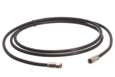 RG-11 USA Made coax cable with F digital video / audio connectors | High Definition RG11 Video HD and Scanner and RX and Discone Antenna coaxial cable (8 ft) (Cb Antenna 8 Feet)