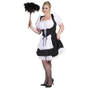 Chambermaid Plus Adult Costume Size XX-Large - Chambermaid Adult Costume