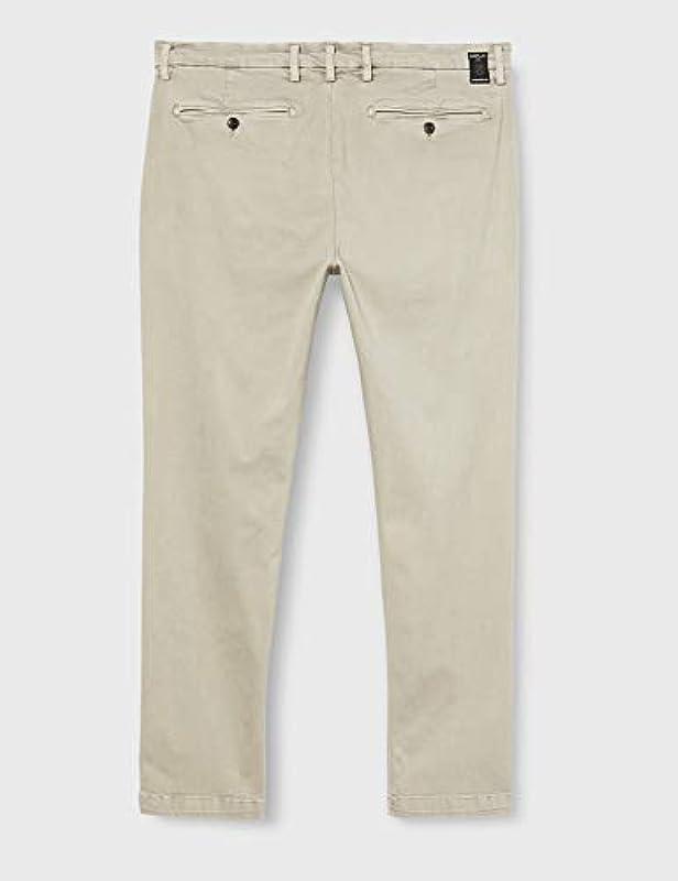 Replay Męskie dżinsy ZEUMAR 326 Clay Grey, 32/34: Odzież