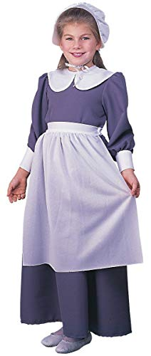 Rubie's Child's Pilgrim Costume Dress, Medium -