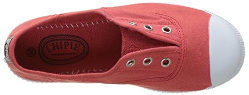 Chipie Josepe 3, Zapatillas de Lona Niños Rojo (Rojo)