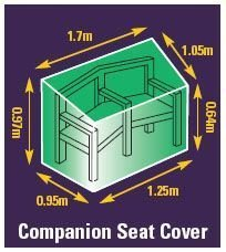 PREMIUM FURNITURE COVER - COMPANION SEAT COVER Gardman