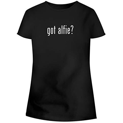 got Alfie? - Women's Soft Junior Cut Adult Tee T-Shirt, Black, X-Large